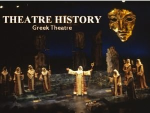 THEATRE HISTORY Greek Theatre https www youtube comwatch