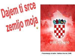 Prezentaciju izradila Vlatkica Horvat 2009 NP Mljet Pjevat