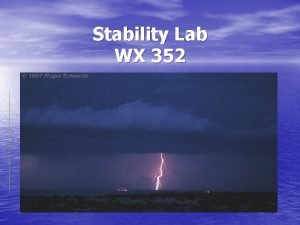 Stability Lab WX 352 Adiabatic Charts The adiabatic