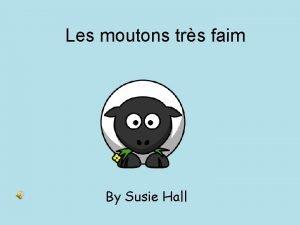 Les moutons trs faim By Susie Hall Au