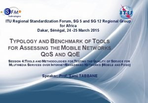 Typology and Benchmark of Tools for Assessing Mobile