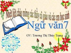 GV Trng Th Thy Trang Di ch th