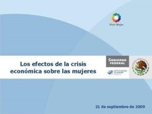 Los efectos de la crisis econmica sobre las