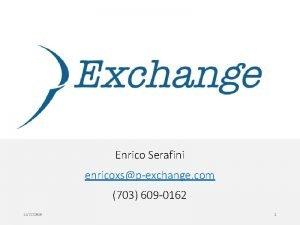 Enrico Serafini enricoxspexchange com 703 609 0162 11272020