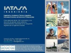 Ingeniera y Asistencia Tcnica Argentina Sociedad Annima de
