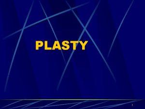 PLASTY 1 Polymer plast Polymer makromolekulrn ltka me