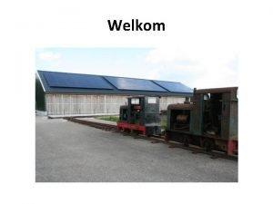 Welkom Industrieel Smalspoor Museum Vertelt het verhaal van