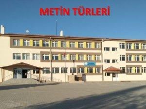 METN TRLER T 8 3 26 Metin trlerini