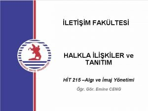 LETM FAKLTES HALKLA LKLER ve TANITIM HT 215