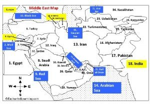 Middle East Map Europe 33 Black Sea 21