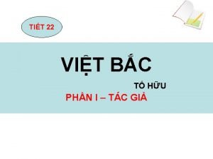 TIT 22 VIT BC T HU PHN I