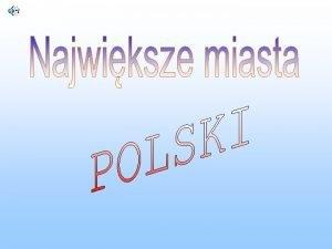 Warszawa Krakw Gdask Wrocaw Warszawa nazwa formalna miasto