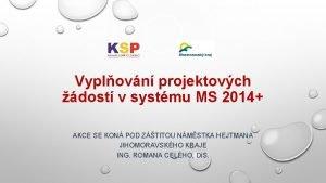 Vyplovn projektovch dost v systmu MS 2014 AKCE