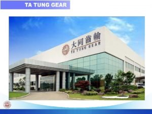 2005 Ta Tung Gear Co Ta Tung Gear