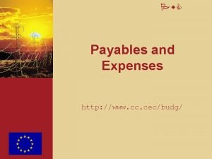 Pw C Payables and Expenses http www cc