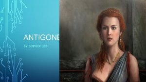 ANTIGONE BY SOPHOCLES Oedipus was a mythical Greek