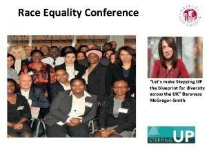 SRace Equality Conference T E P I N