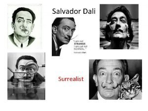 Salvador Dali Surrealist The Boy Dreamer Salvador Dali