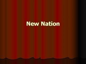 New Nation New Nation Vocabulary Montesquieu John Locke