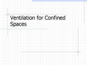 Ventilation for Confined Spaces 1910 146 requires ventilation