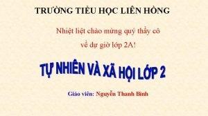 TRNG TIU HC LIN HNG Nhit lit cho