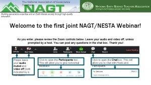 The National Association of Geoscience Teachers Building geoscience