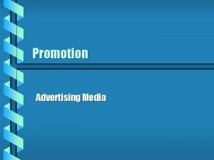 Promotion Advertising Media How Many Ads to You