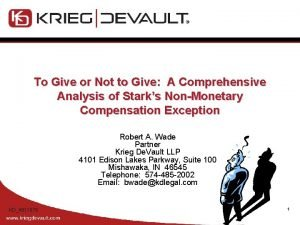 To Give or Not to Give A Comprehensive