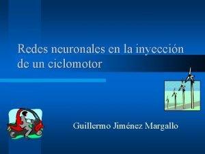 Redes neuronales en la inyeccin de un ciclomotor