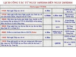 LCH CNG TC T NGY 1652016 N NGY
