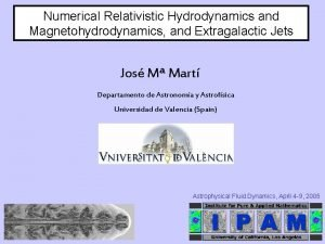 Numerical Relativistic Hydrodynamics and Magnetohydrodynamics and Extragalactic Jets