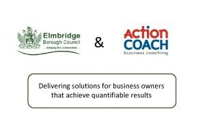 Delivering solutions for business owners that achieve quantifiable