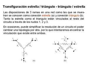 Transfiguracin estrella tringulo tringulo estrella Las disposiciones de