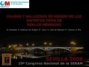 CAUSAS Y HALLAZGOS DE IMAGEN DE LOS DISTINTOS