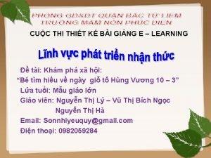 CUC THIT K BI GING E LEARNING ti
