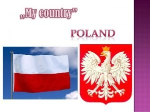 Poland officially the Republic of Poland is a