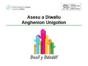 Asesu a Diwallu Anghenion Unigolion Nodau a chanlyniadau