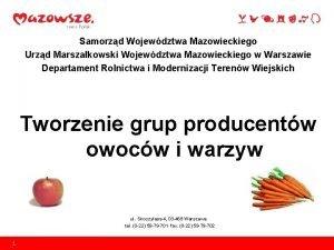 Samorzd Wojewdztwa Mazowieckiego Urzd Marszakowski Wojewdztwa Mazowieckiego w