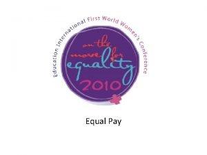 Equal Pay Equal Remuneration Convention 1951 No 100