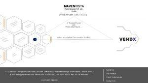 MAVENVISTA Technologies Pvt Ltd India An ISO 9001