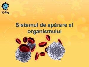 Sistemul de aprare al organismului Sistemul de aprare
