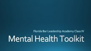Mental Health Toolkit and social wellbeing psychological emotional