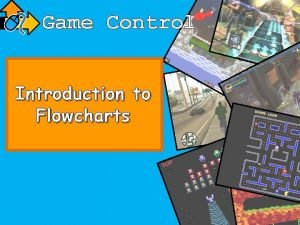 Game Control Introduction to Flowcharts Learning Objective Learn
