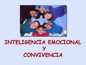 INTELIGENCIA EMOCIONAL Y CONVIVENCIA INFORME DELORS 1999 UNESCO