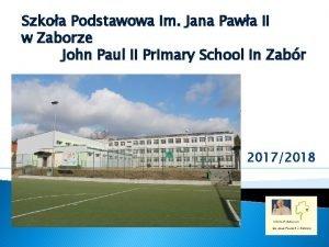 Szkoa Podstawowa im Jana Pawa II w Zaborze