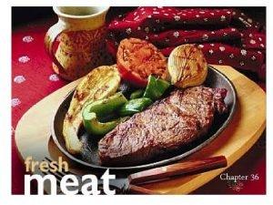 Chapter 36 Tipos de Carne Meat n Carne