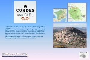 CordessurCiel est situe dans le dpartement du Tarn