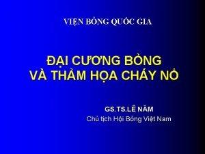 VIN BNG QUC GIA I CNG BNG V