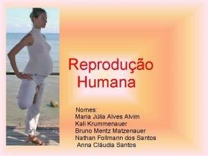 Reproduo Humana Nomes Maria Jlia Alves Alvim Kali