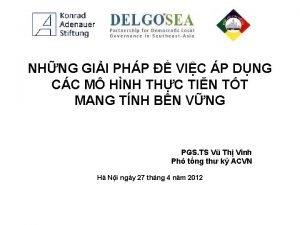 NHNG GII PHP VIC P DNG CC M